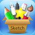 Sketch Painter – Painting, Drawing, Sketching Illustrations on Unlimited Size Canvas with free Paint Brush